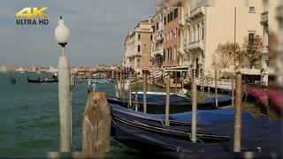 Венеция. Венецианские каналы. Обалденная Италия в видео 4К под красивую инструментальную музыку!