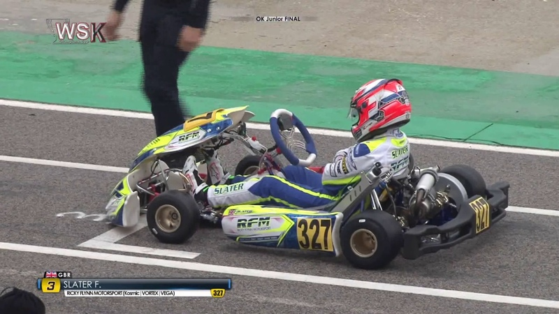 WSK CHAMPIONS CUP 2020 OK JUNIOR FINAL