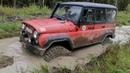 Чокнутые джиперы в поисках нового маршрута нашли Range Rover в болоте?!