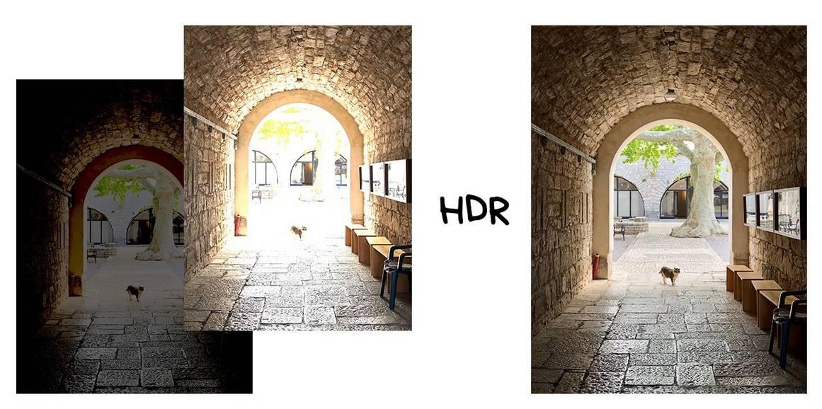 Как получается HDR