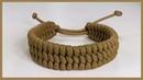1 Strand Adjustable Trilobite Paracord Bracelet Design Rastaclat Style