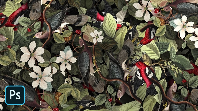 How To Create Detailed Graphic Patterns in Photoshop