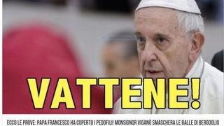 Apostasia: a che serve un papa che non sa distinguere il Bene dal male satana in Vaticano