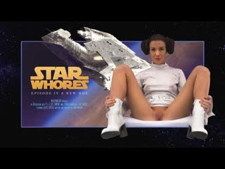 [movieporn] alexis crystal — star whores a new hoe [star wars | звёздные войны] [pov, uniform, anal, porn parody, cosplay]