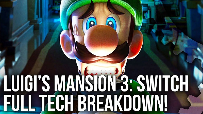 Luigi's Mansion 3 Switch Tech Breakdown A Playable CG Movie on Switch