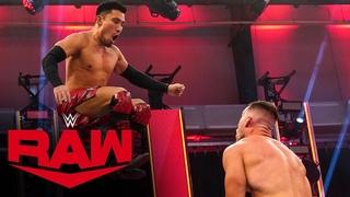 #My1 Akira Tozawa vs. Austin Theory: Raw, April 13, 2020