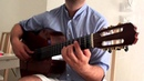 Once Upon a Time in America played on Classical Guitar