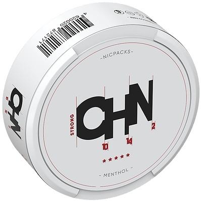 Снюс CHN Strong Menthol на Пхукете - 500 бат  CHN (C10H14N2) – аналог шведского белого снюса Lyft со вкусом мяты,  новинка от Corvus.  Вкус - Ментол Цвет пакета - белый Толщина пакетика - Тонкий (Slim)   Порционность: 20+ порций Никотин: 45 мг/г Вес пакетика: 0,7 г