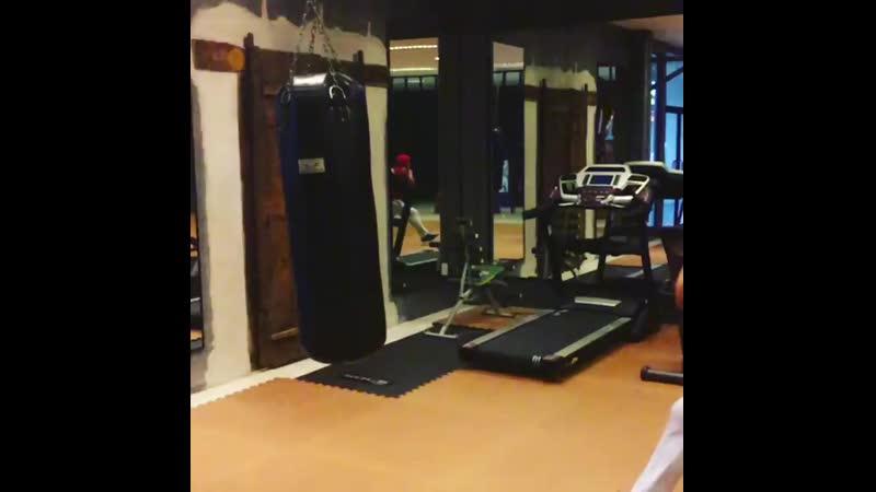 Tony Jaa training