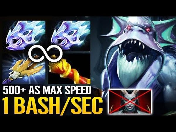 CANCER SLardar MAX Speed Build x2 Moon Shard MKB Hard Carry Dota 2