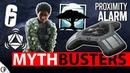 Busting Melusi Proximity Alarm - Mythbusters - Steel Wave - 6News - Rainbow Six Siege