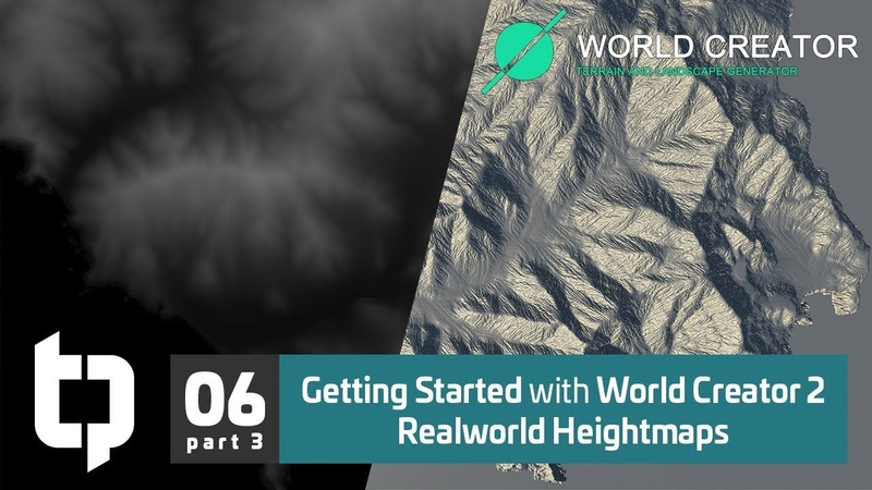 06 3 Getting Started with World Creator 2 Realworld Heightmaps