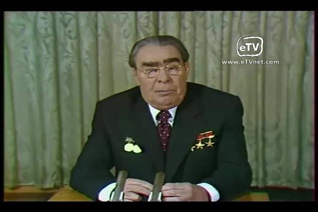 Л И Брежнев поздравляет с Днем рождения · coub коуб
