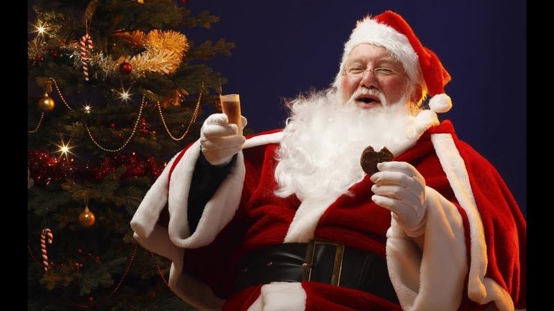 Новогоднее Поздравление Деда Мороза. С Наступающим Новым 2020 годом. С Новым Годом. Год Белой Крысы.