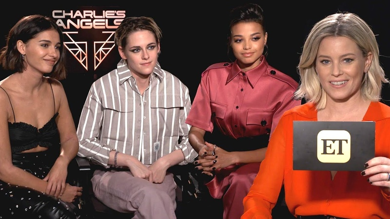 Elizabeth Banks Interviews The Cast Of Charlies Angels (Exclusive)