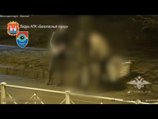 Полицейские по горячим следам задержали подозреваемого в разбойном нападении