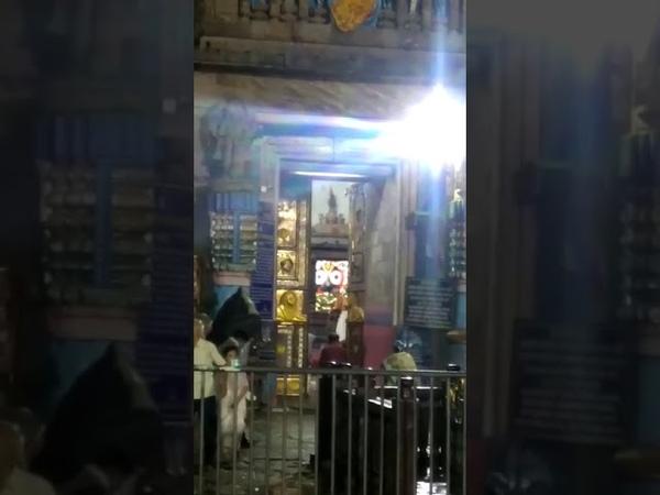 Holy flags atop Puri Srimandir caught fire