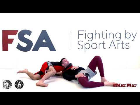 Миша и Мага - One leg takedown defense by power choke.