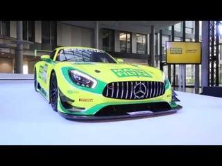 MANN-FILTER Team HTP Motorsport Mercedes-AMG GT3 2017