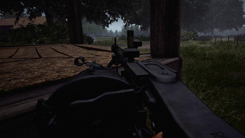 Post Scriptum MG 34 Barn Defense GER Comms ENG Subs