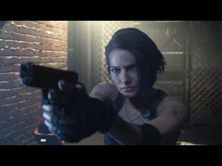 Resident evil 3 – трейлер демо-версии