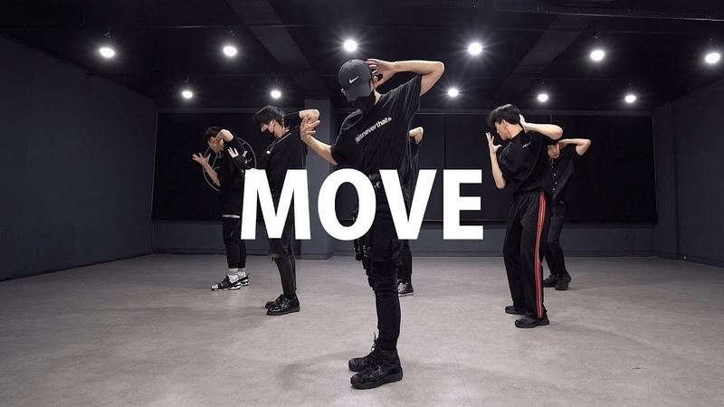 PRODUCE X 101 - 움직여 MOVE (Boys ver.) | 커버댄스 DANCE COVER | 안무 거울모드 MIRRORED | 연습실 PRACTICE ver.