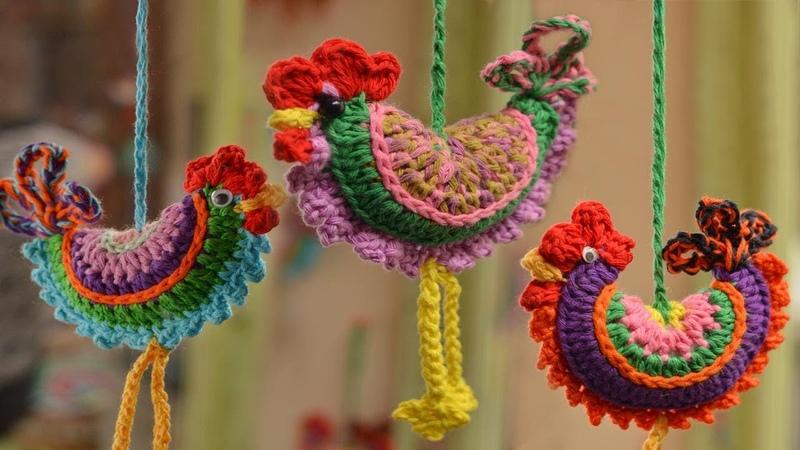 Gallito a crochet paso a paso