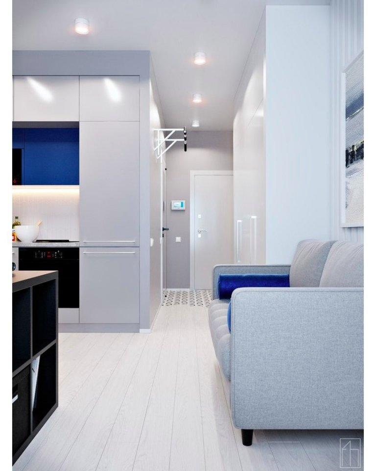 Маленькая квартира 25 кв.