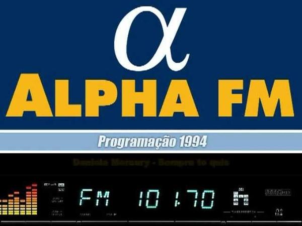 ALPHA FM 101 7 Programação 2ºSemestre 1994