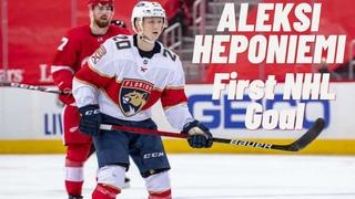 Aleksi Heponiemi #20 (Florida Panthers) first NHL goal 30/01/2021