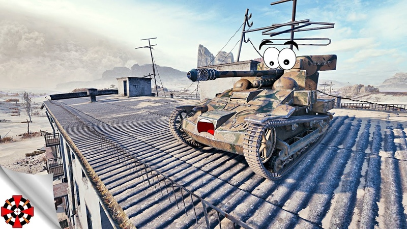 World of Tanks Funny Moments PHYSICS FIESTA WoT glitches physics fails November 2019