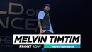 Melvin Timtim | FRONTROW | World of Dance Houston 2019 | WODHTOWN19 |