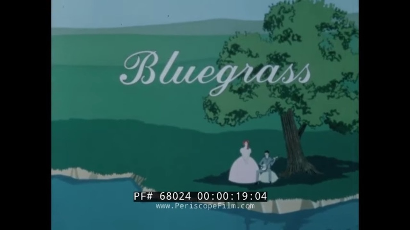 BLUEGRASS 1965 KENTUCKY TRAVELOGUE KENTUCKY DERBY COLONEL SANDERS PADUCAH 68024