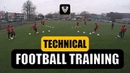 TECHNICAL FOOTBALL TRAINING U9 U10 U11 U12 U13 U14 SOCCER EXERCISES Thomas Vlaminck