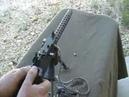 Micro beltfed machinegun 1919a4 Lakeside Machine Miniature beltfed 22LR
