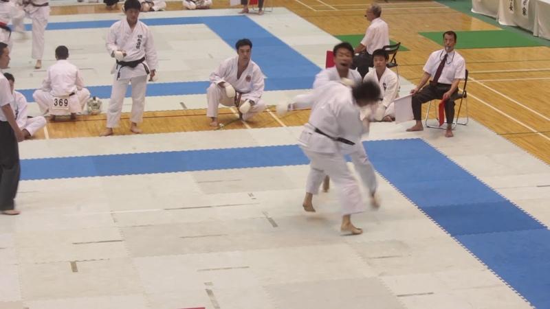 第37回全国空手道選手権大会 2017 All Japan SKIF Championships 一般有段男子 組手予選