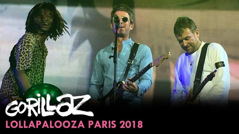 Gorillaz Lollapalooza Paris 2018 Full Show