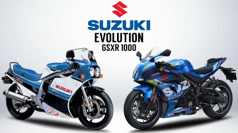 THE EVOLUTION OF SUZUKI GSXR 1000 1985 2020