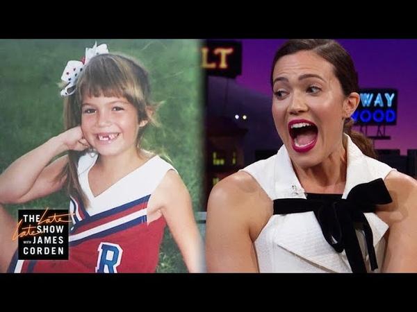Mandy Moore Jenna Dewan Have Killer Cheerleading TBTs