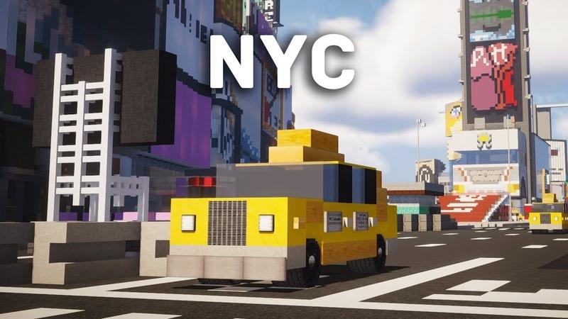 Minecraft Blueprint NYC Creative Server Review