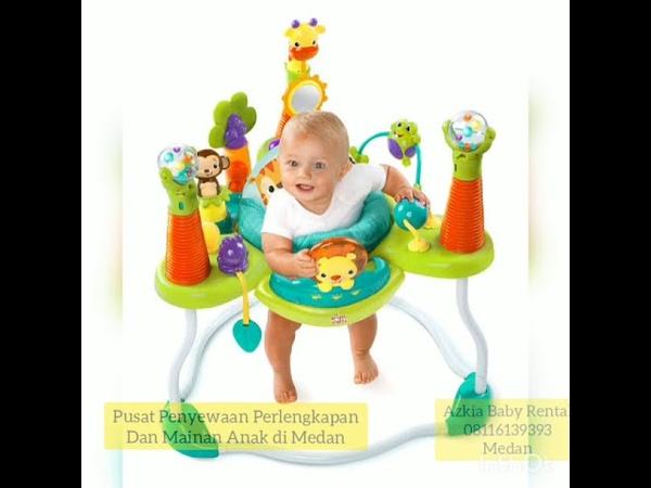 Bright Starts Roar and activity Jumperoo Pusat Penyewaan perlengkapan dan mainan anak di Medan