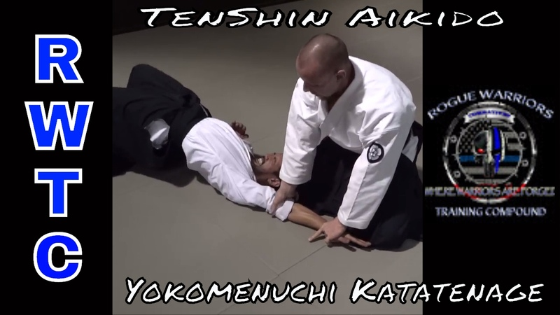 Katatenage one of the real ways that makes this technique so effective - TenShin Aikido