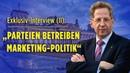 """Maaßen im Exklusiv-Interview: """"Parteien betreiben Marketing-Politik – Medien und Politik im Biotop"""""""