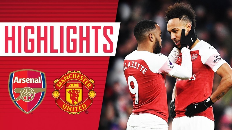 UNAI'S AT THE WHEEL Arsenal 2 0 Manchester United Goals highlights All the angles
