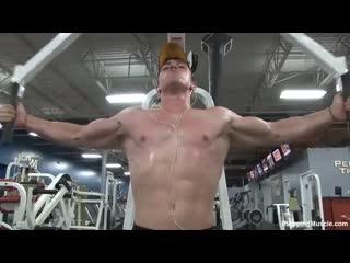 360  Tim K Photoshoot #3 (Pumping Muscle) (Wrestling)