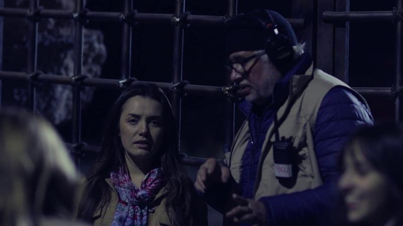 Backstage сериала Прикосновение зла Evil Touch