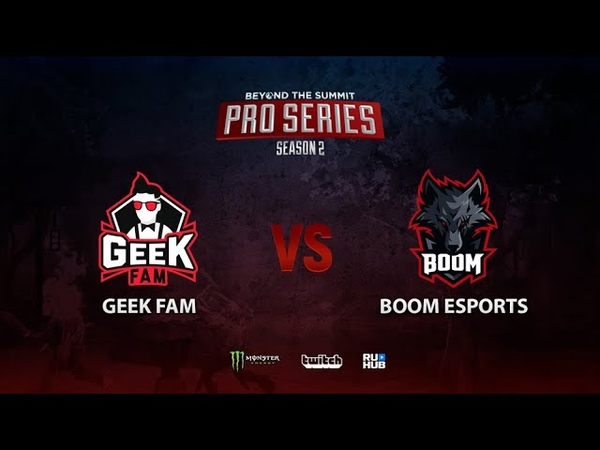 Geek Fam vs BOOM Esports BTS Pro Series Season 2 SEA bo2 game 1 Mortalles Adekvat
