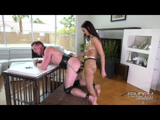 Femdomempire.com - eliza ibarra - smile for cock [femdom, strap-on, pegging, anal, chastity, stockings, cbt]