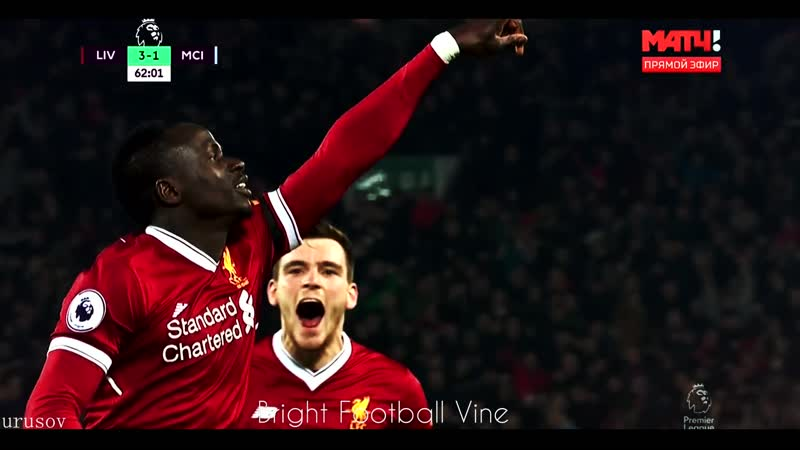 Sadio Mane Urusov Bright Football Vine