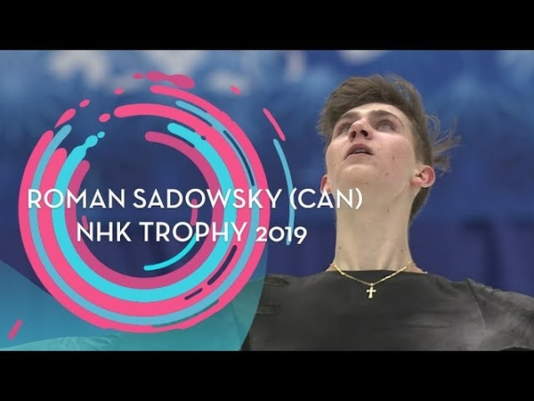 Roman Sadovsky (CAN) | Men Free Skating | NHK Trophy 2019 | GPFigure